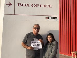 Michael attended Chicago and REO Speedwagon on Jun 15th 2018 via VetTix