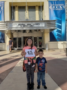 Click To Read More Feedback from Pj Masks Live! Time to Be a Hero
