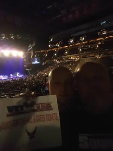Charlie attended Daryl Hall & John Oates and Train on Jun 11th 2018 via VetTix