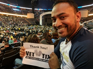 Nash attended Daryl Hall & John Oates and Train on Jun 11th 2018 via VetTix