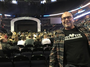 Thom attended Daryl Hall & John Oates and Train on Jun 11th 2018 via VetTix