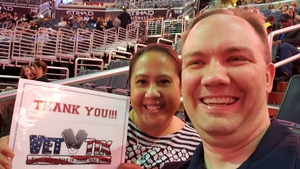 Michael attended Daryl Hall & John Oates and Train on Jun 11th 2018 via VetTix