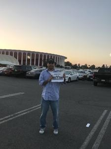 Ernesto attended Kesha and Macklemore 6/8 on Jun 8th 2018 via VetTix