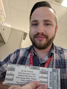 Joseph attended Thirty Seconds to Mars on Jun 12th 2018 via VetTix