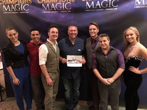 Scott attended Champions of Magic - Sunday on Jun 24th 2018 via VetTix