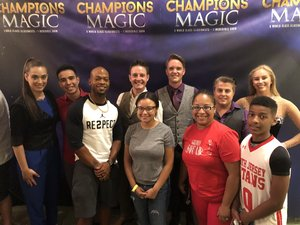 Nakia attended Champions of Magic - Sunday on Jun 24th 2018 via VetTix