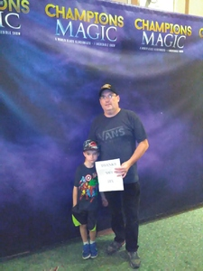 TODD attended Champions of Magic - Sunday on Jun 24th 2018 via VetTix