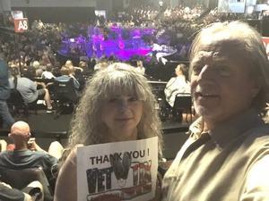 Deborah attended Alan Parson's Project Live on Jun 8th 2018 via VetTix