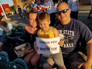 Click To Read More Feedback from Lakewood BlueClaws vs. Hagerstown Suns - MiLB - Military Appreciation Night