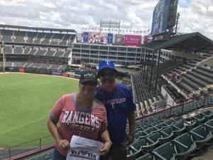 Leticia attended Texas Rangers vs. Colorado Rockies - MLB on Jun 17th 2018 via VetTix