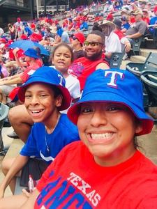 Daniela attended Texas Rangers vs. Colorado Rockies - MLB on Jun 17th 2018 via VetTix