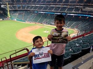 Edmundo attended Texas Rangers vs. Colorado Rockies - MLB on Jun 17th 2018 via VetTix