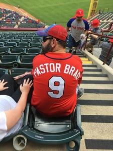 John attended Texas Rangers vs. Colorado Rockies - MLB on Jun 17th 2018 via VetTix