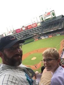 Ben Ernst attended Texas Rangers vs. Arizona Diamondbacks - MLB on Aug 13th 2018 via VetTix