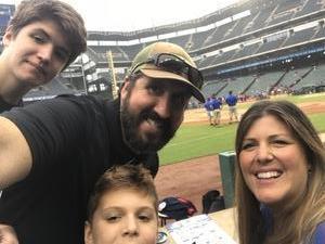 Robin attended Texas Rangers vs. Seattle Mariners - MLB on Sep 23rd 2018 via VetTix