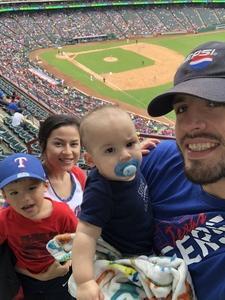 Gabe attended Texas Rangers vs. Seattle Mariners - MLB on Sep 23rd 2018 via VetTix