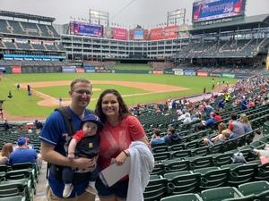 Jordan attended Texas Rangers vs. Seattle Mariners - MLB on Sep 23rd 2018 via VetTix