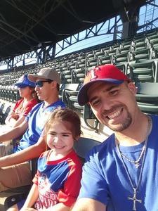 Joshua attended Texas Rangers vs. Seattle Mariners - MLB on Sep 23rd 2018 via VetTix