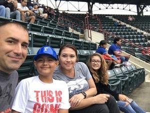 James attended Texas Rangers vs. Seattle Mariners - MLB on Sep 23rd 2018 via VetTix
