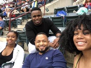 Ronell attended Texas Rangers vs. Seattle Mariners - MLB on Sep 23rd 2018 via VetTix