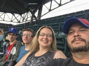 Jonathan attended Texas Rangers vs. Seattle Mariners - MLB on Sep 23rd 2018 via VetTix