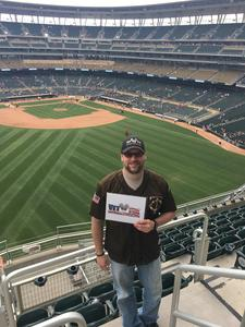 Jason attended Minnesota Twins vs. Texas Rangers - MLB on Jun 24th 2018 via VetTix