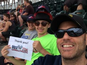 Shane attended Minnesota Twins vs. Texas Rangers - MLB on Jun 24th 2018 via VetTix