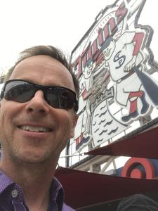 Greg attended Minnesota Twins vs. Texas Rangers - MLB on Jun 24th 2018 via VetTix
