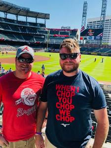 Cody attended Atlanta Braves vs. St. Louis Cardinals - MLB on Sep 19th 2018 via VetTix