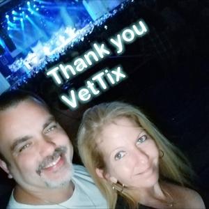 Wesley attended Rascal Flatts: Back to US Tour 2018 on Jun 15th 2018 via VetTix
