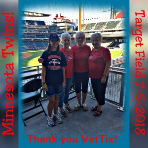 Tonia attended Minnesota Twins vs. Baltimore Orioles - MLB on Jul 5th 2018 via VetTix