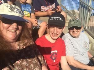 Melanie attended Minnesota Twins vs. Baltimore Orioles - MLB on Jul 5th 2018 via VetTix