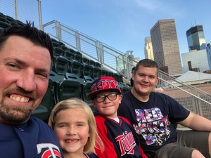 Kelly attended Minnesota Twins vs. Baltimore Orioles - MLB on Jul 6th 2018 via VetTix