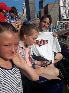 Chris attended Minnesota Twins vs. Baltimore Orioles - MLB on Jul 6th 2018 via VetTix