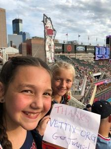 Steven attended Minnesota Twins vs. Baltimore Orioles - MLB on Jul 6th 2018 via VetTix