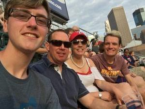 Paula attended Minnesota Twins vs. Baltimore Orioles - MLB on Jul 6th 2018 via VetTix