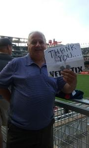 Brad attended Minnesota Twins vs. Baltimore Orioles - MLB on Jul 6th 2018 via VetTix