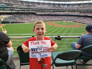 Chad attended Minnesota Twins vs. Baltimore Orioles - MLB on Jul 6th 2018 via VetTix
