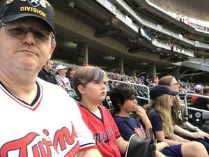 James attended Minnesota Twins vs. Baltimore Orioles - MLB on Jul 6th 2018 via VetTix