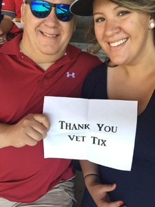 Korb attended Minnesota Twins vs. Baltimore Orioles - MLB on Jul 7th 2018 via VetTix
