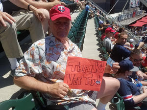 Harold attended Minnesota Twins vs. Baltimore Orioles - MLB on Jul 7th 2018 via VetTix