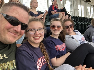Herbert attended Minnesota Twins vs. Baltimore Orioles - MLB on Jul 7th 2018 via VetTix