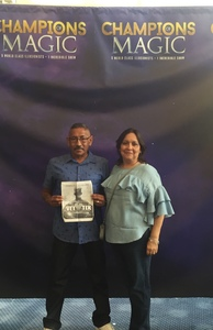 Jose attended Champions of Magic - Saturday on Jun 30th 2018 via VetTix