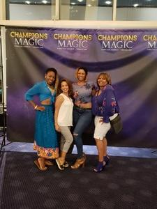 Shaun attended Champions of Magic - Saturday on Jun 30th 2018 via VetTix