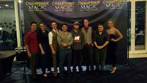 John Gonzales attended Champions of Magic - Saturday on Jun 30th 2018 via VetTix