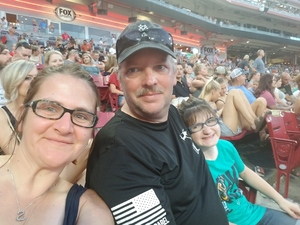 Matthew attended Luke Bryan: What Makes You Country Tour on Jun 16th 2018 via VetTix
