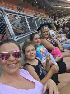 The Osborn's attended Luke Bryan: What Makes You Country Tour on Jun 16th 2018 via VetTix