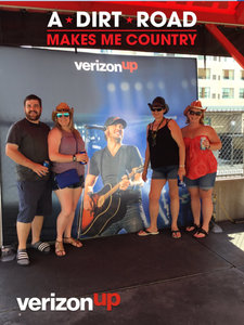 April attended Luke Bryan: What Makes You Country Tour on Jun 16th 2018 via VetTix