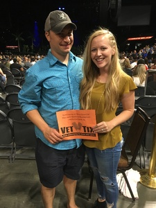 Brian attended Kesha and Macklemore - Live in Concert - Presented by the Mandalay Bay Events Center on Jun 9th 2018 via VetTix