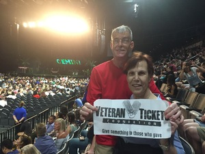 Steven attended Kesha and Macklemore - Live in Concert - Presented by the Mandalay Bay Events Center on Jun 9th 2018 via VetTix